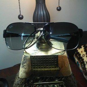 Ray-Ban RB3404 Vintage Black on Black Sunglasses